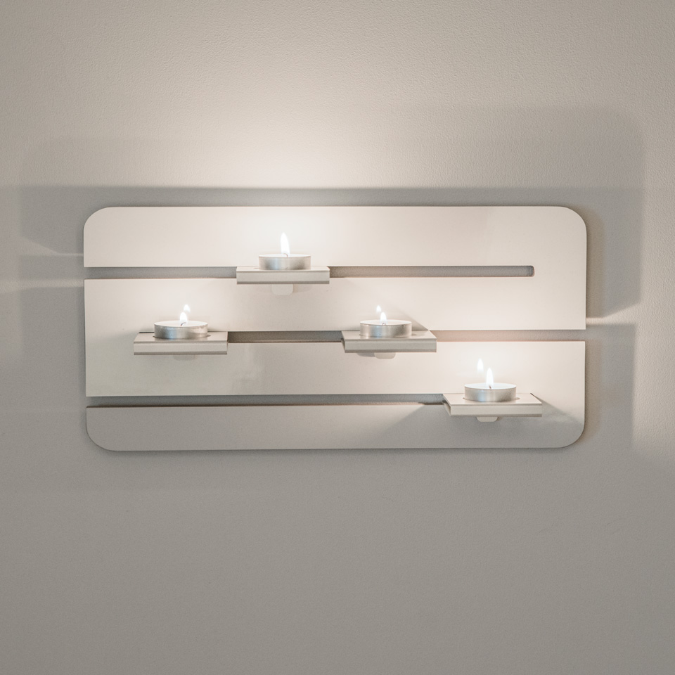 Ljushållare vägg värmeljus