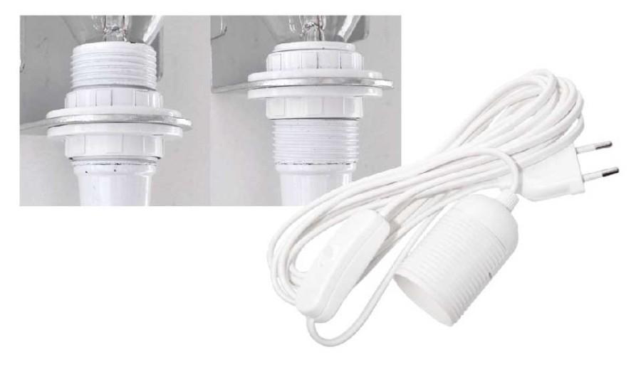 Lampor, vägglampor, ljushållare