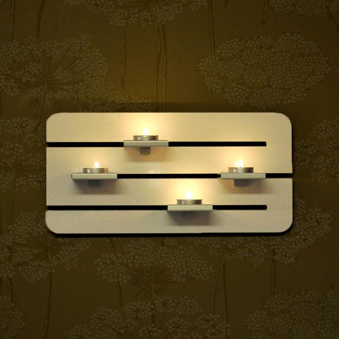 Ljusramp fyra ljus