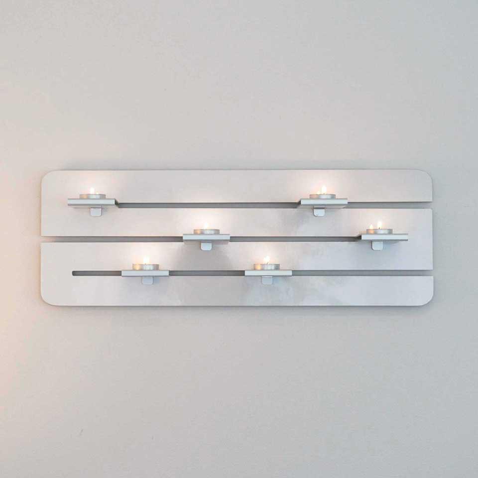 Ljushållare för värmeljus