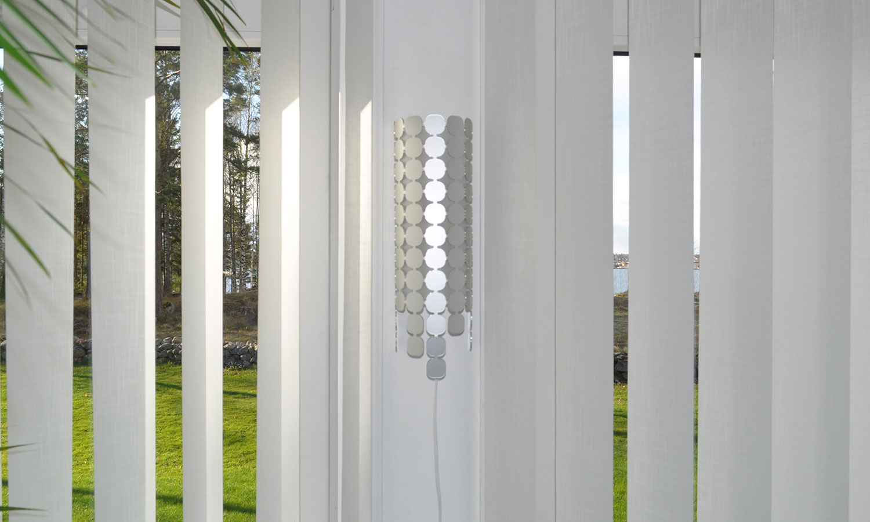 Lampa i klarlackad aluminium