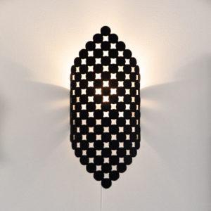 Orient, svart. Trivsam belysning