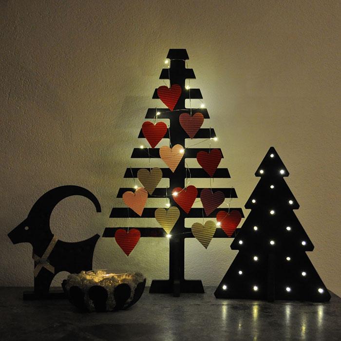 Julgran att klä