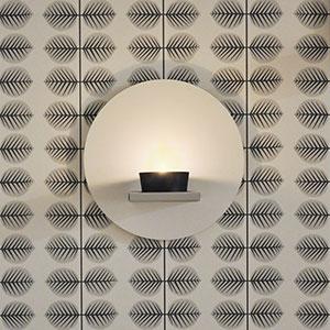 Ljuspunkt, ljushållare för vägg