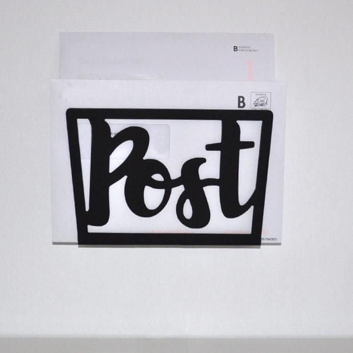 Brevbärare, vägghållare för post