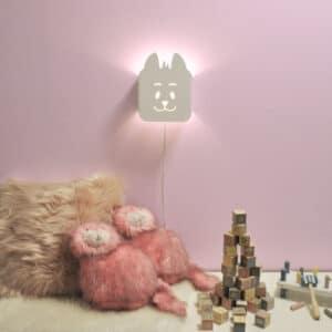 Kalle katt, vägglampa